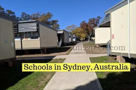 School in Australia - Sydney Carlingford demountable classrooms