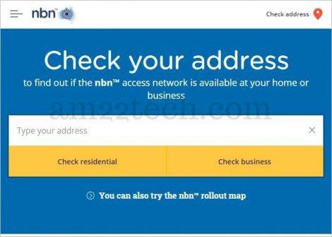 Check NBN at my address