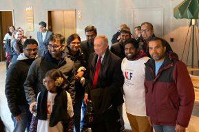IIF meet Durbin in Chicago