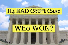 Who won H4 EAD federal court Case?