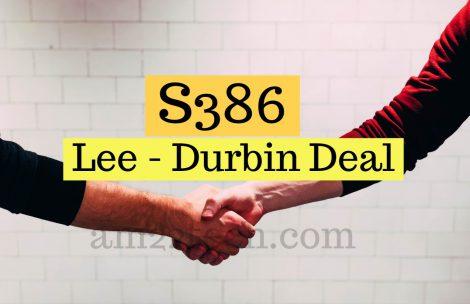 S386 Lee Durbin deal