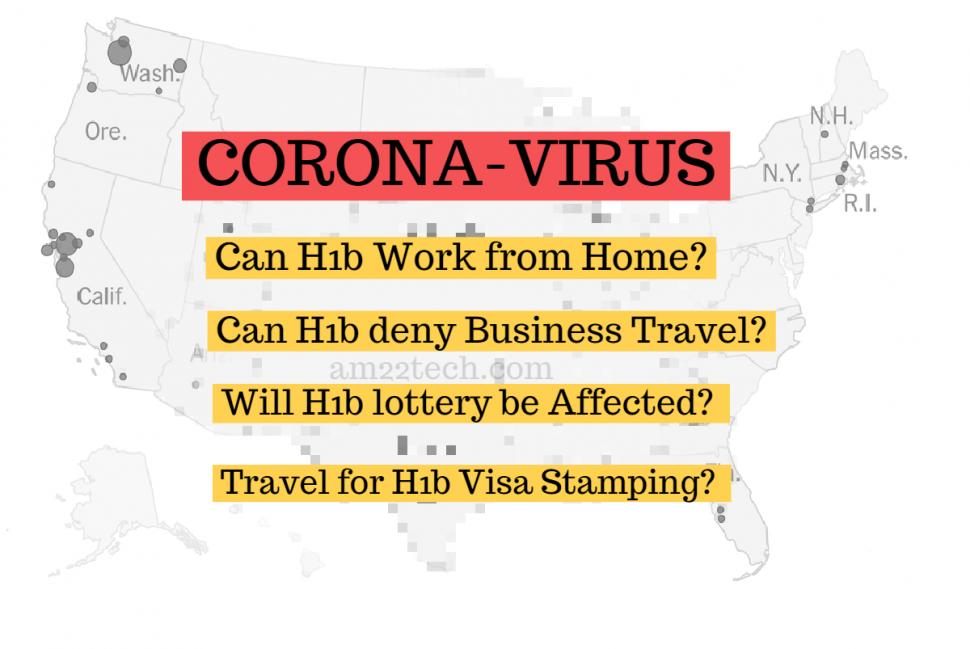 H1B Corona Virus Effects