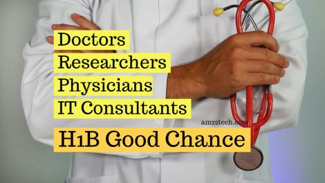 Healthcare services have good chance of getting h1b visa