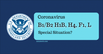 Is Coronavirus a special situation for B2 extension in USA?