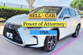 Sell car using power of attorney in USA