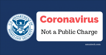 USCIS says Coronavirus treatment is not a public charge