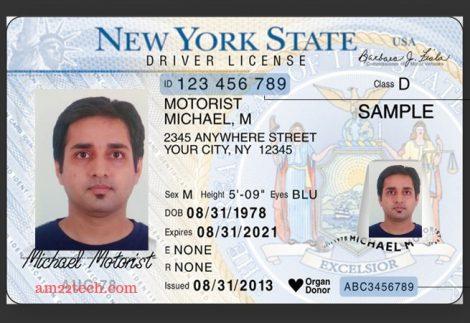 Automatic Driving license renewal in Coronavirus