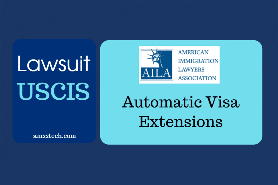 AILS files lawsuit against USCIS to allow automatic-visa extensions in coronavirus emergency