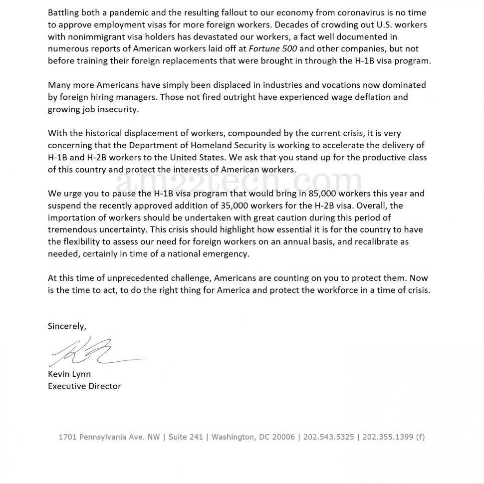 UStechworkers letter to trump page 2