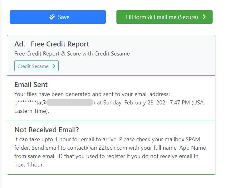 EAD application am22tech email