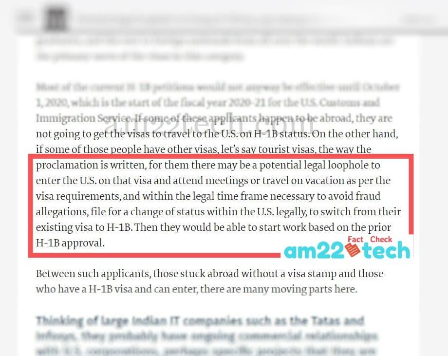 Sheela Murthy talks about legal loophole