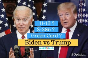 Biden vs Trump - who will help pass s386?