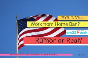 Is h1b work-from-ban coming up after F1 online study ban