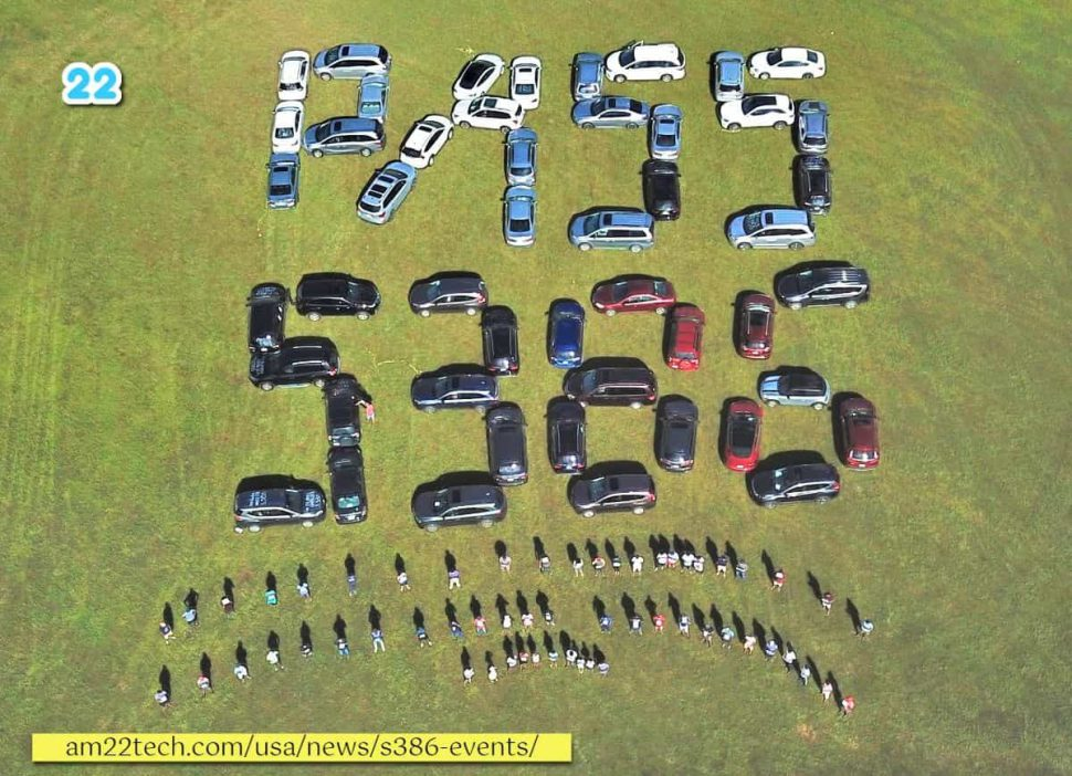 Pass 386 created with cars lined up to catch Senator's attention