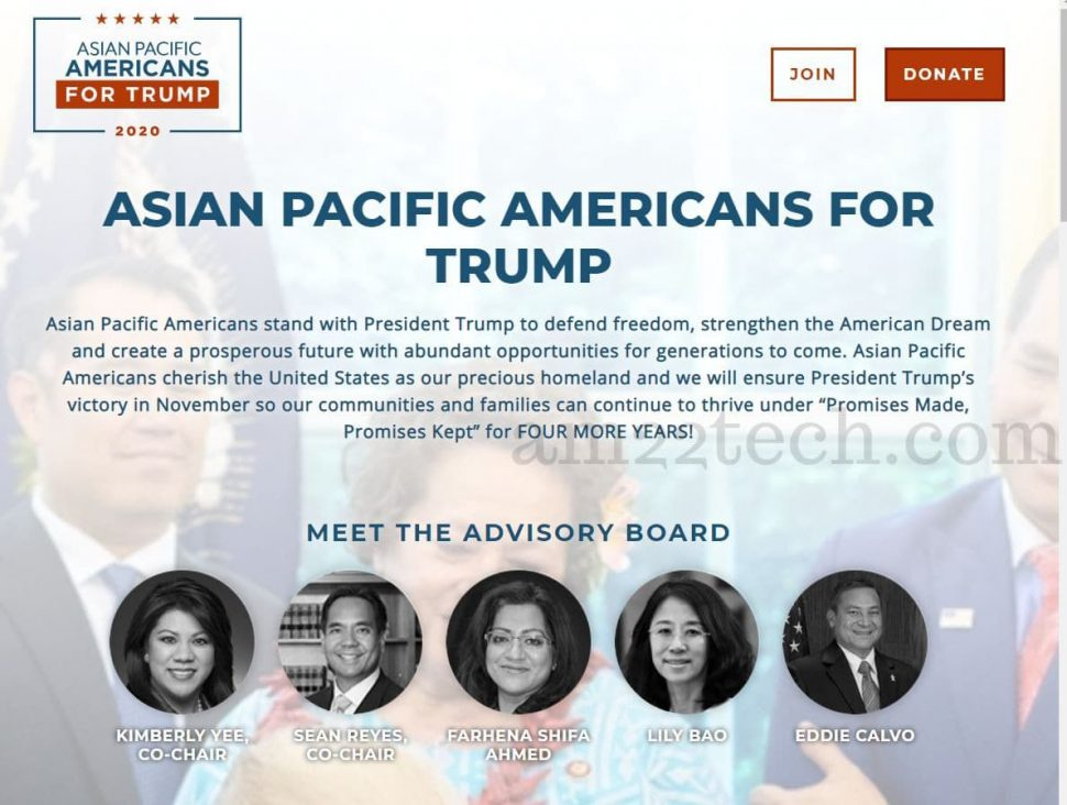 Trump for Asians
