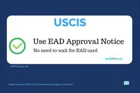 USCIS allows using EAD approval notice - no need to wait for card for starting employment