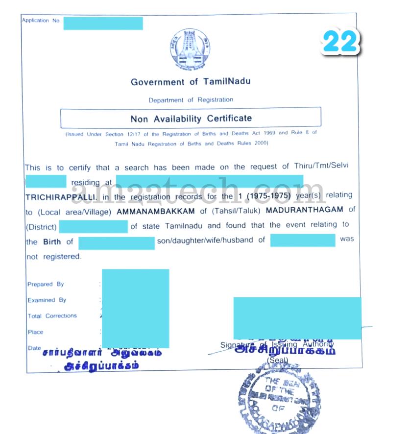 NABC from TamilNadu