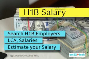 H1B salaries - Search LCA and Estimate your salary