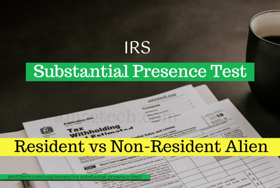 IRS substantial presence test calculator