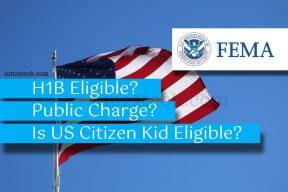Is visa worker eligible for FEMA assistance?