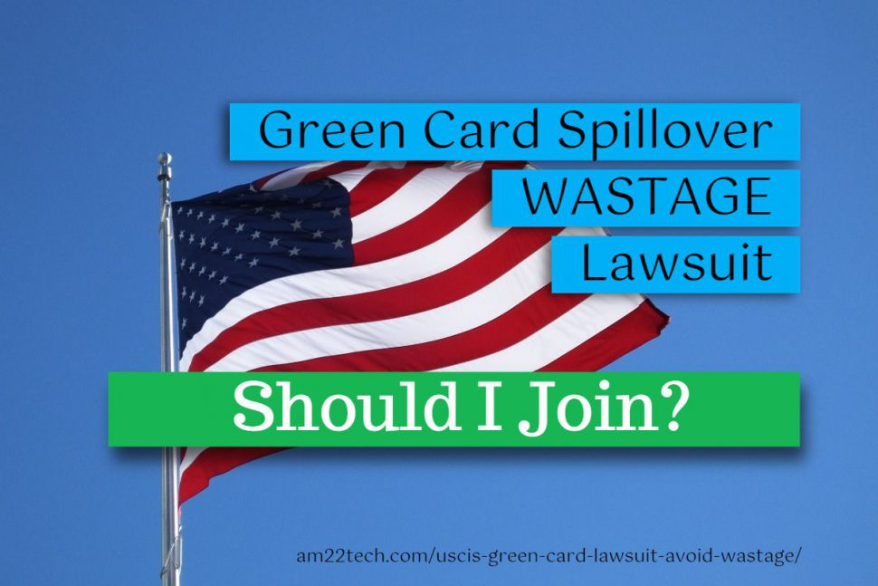 Should I join USCIS green card lawsuit?